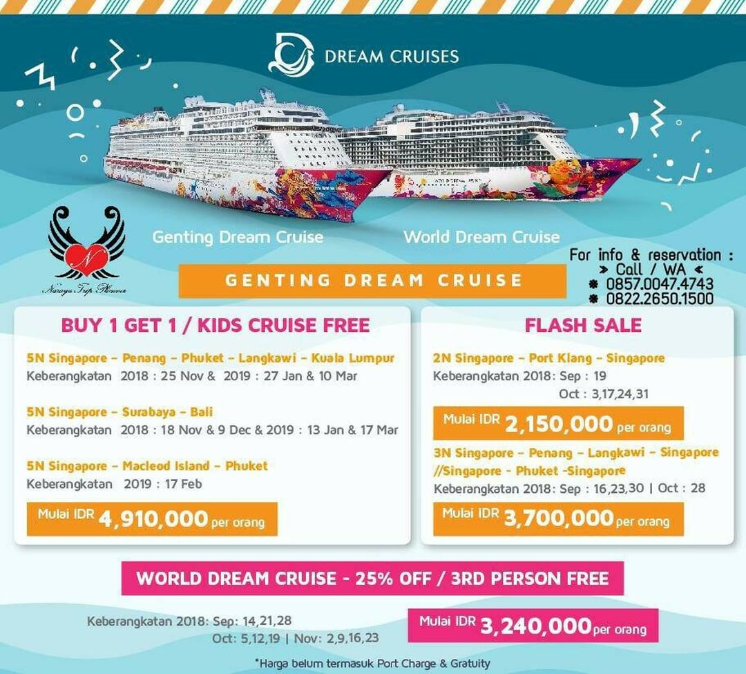 Dream Cruise Package