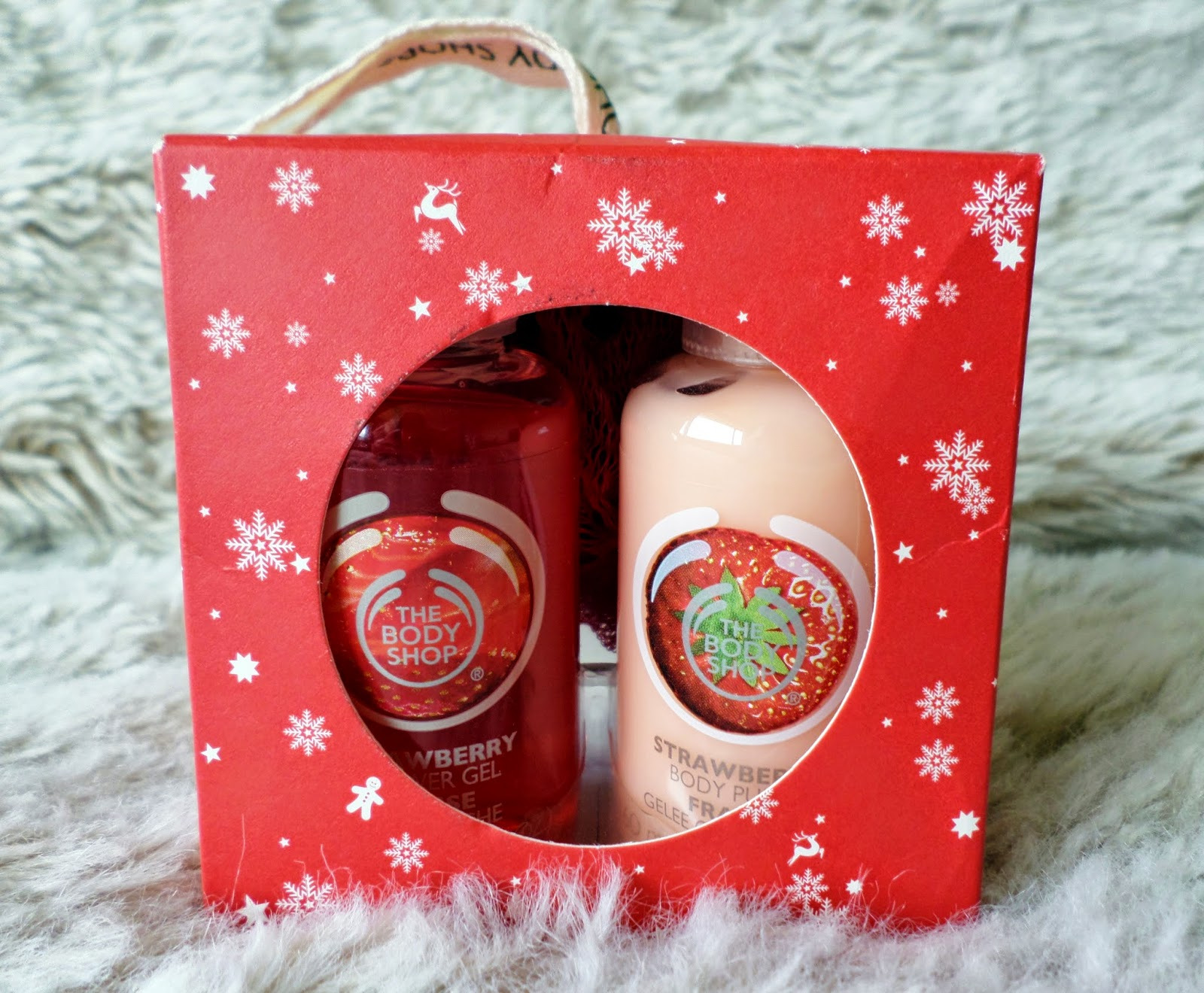 The Body Shop Mini Strawberry Gift Set
