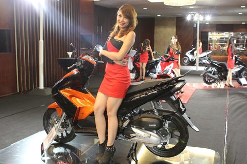 Air Blade 125cc màu cam,Honda Air Blade 125 màu cam