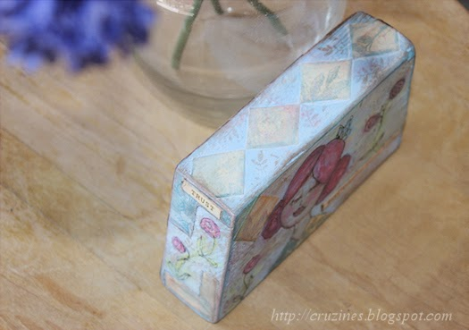 Inspiration Block by Tori Beveridge