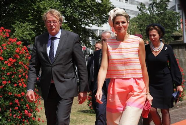 Queen Maxima of The Netherlands attend the 3e edition of the Family Business Award 2015, awarded by the foundation Familie Onderneming