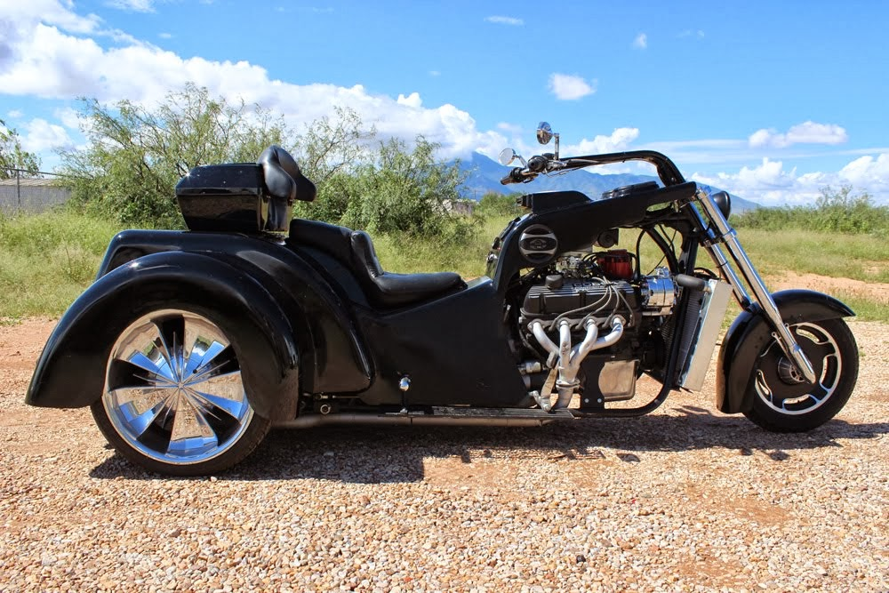 V8 Trike Choppers