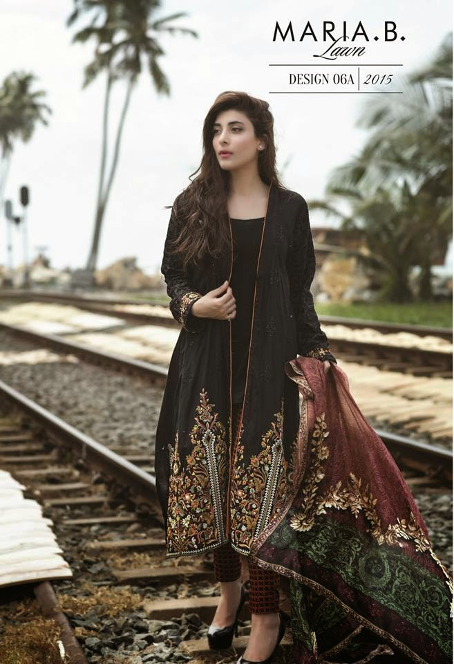 Maria b 2015 lawn collection