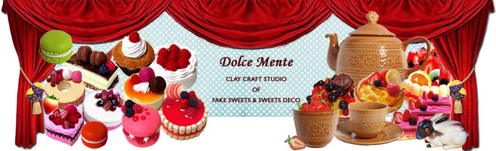 Dolce Mente  ~FAKE SWEETS and SWEETS DECO~