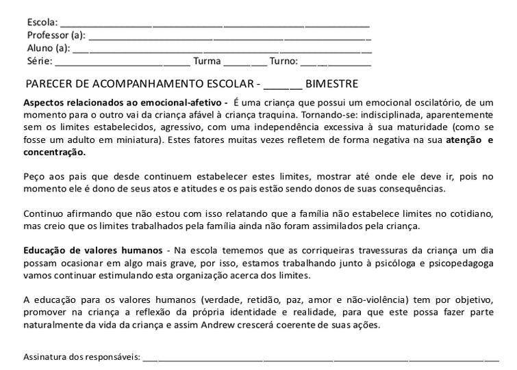 Super RELATÓRIOS DESCRITIVOS DESEMPENHO AVALIAÇÃO DO ALUNO ALFABETIZAÇÃO  EN59