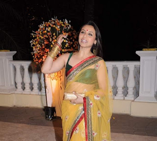 Rani Mukherjee hot in saree