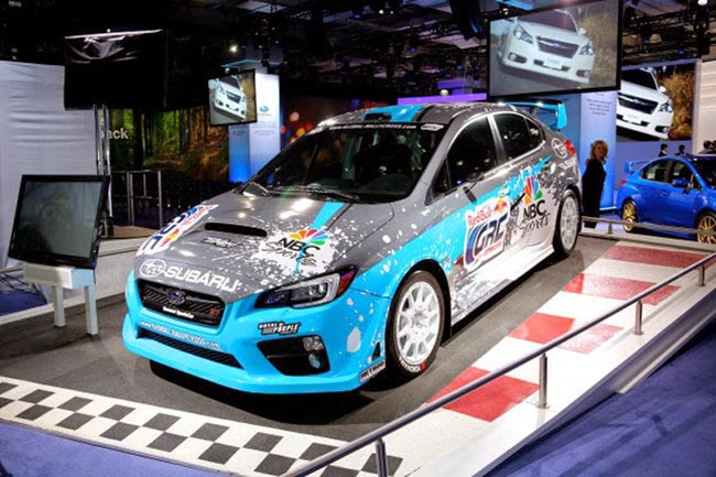 New 2015 Subaru WRX STI GRC Concept Review