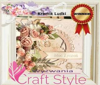 Wygrałam wyzwanie28  Jesienny moodboard w Craft Style
