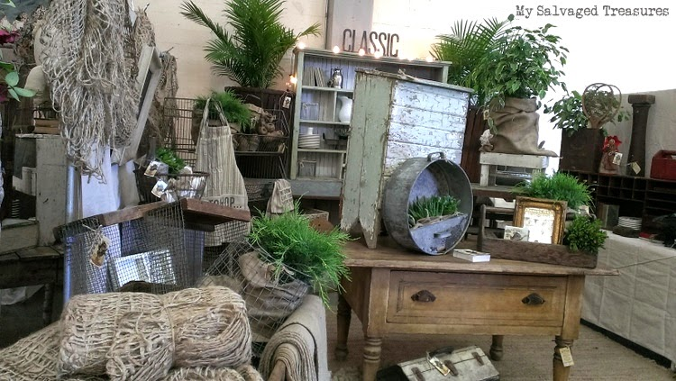 vintage antique booth