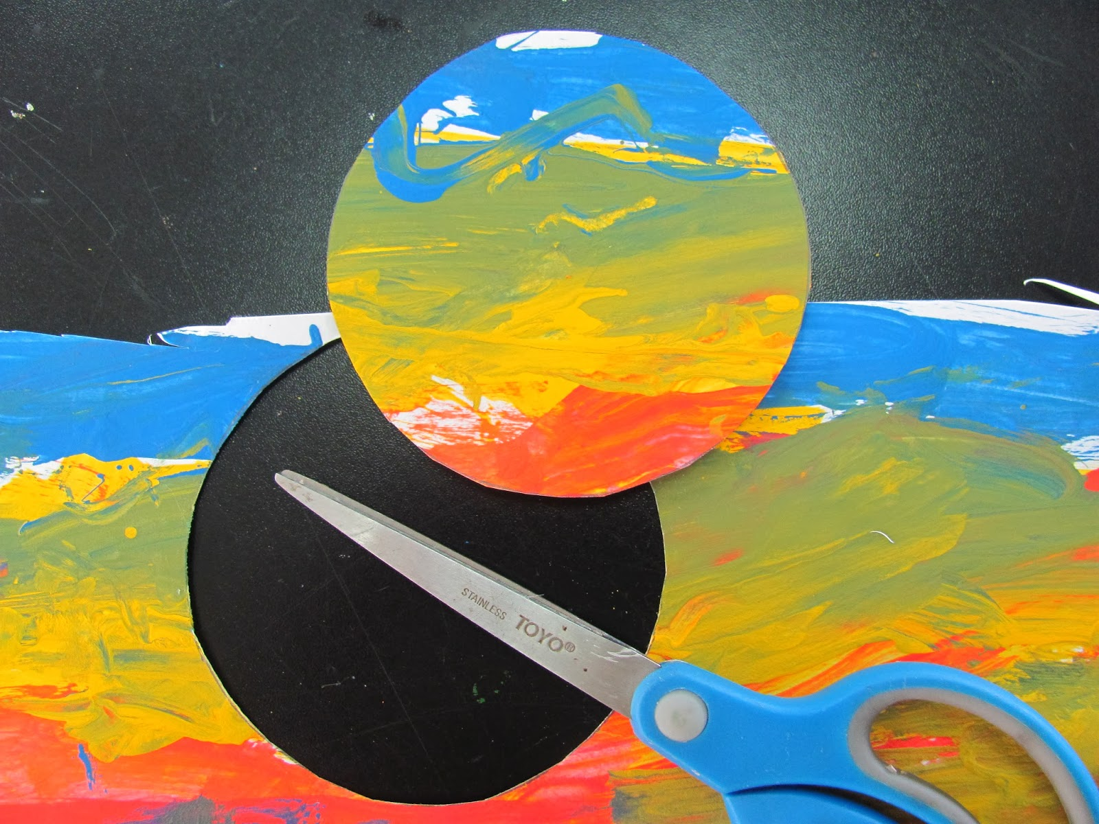 es ms art at dalat kindergarten project eric carle christmas