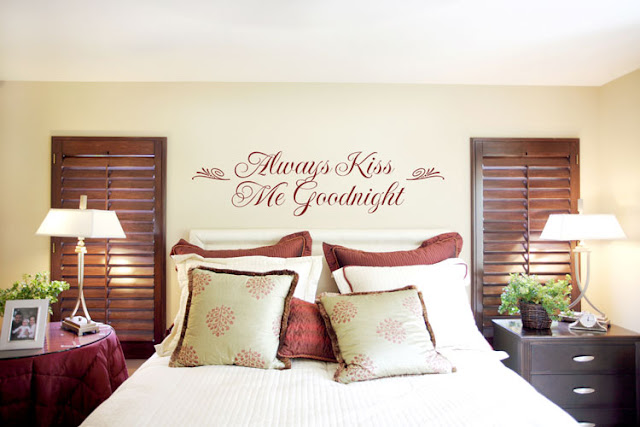 Bedroom Decor Ideas Feature Wall wall decorating ideas for bedrooms - interior designs room