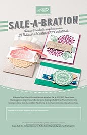Weitere tolle Sale-A-Bration Produkte  bei Stampin' Up!