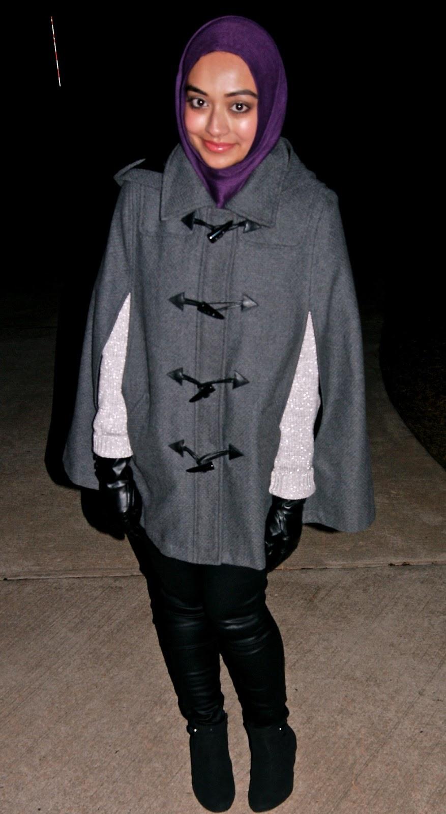 Leather jacket hijab - Leather Pants H M Cape Dor L Dor Boutique