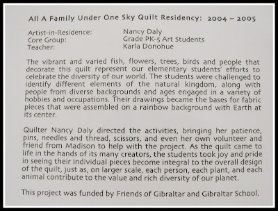 photo of: Artist-Residency Quilt Creation via RainbowsWithinReach Quilt RoundUP