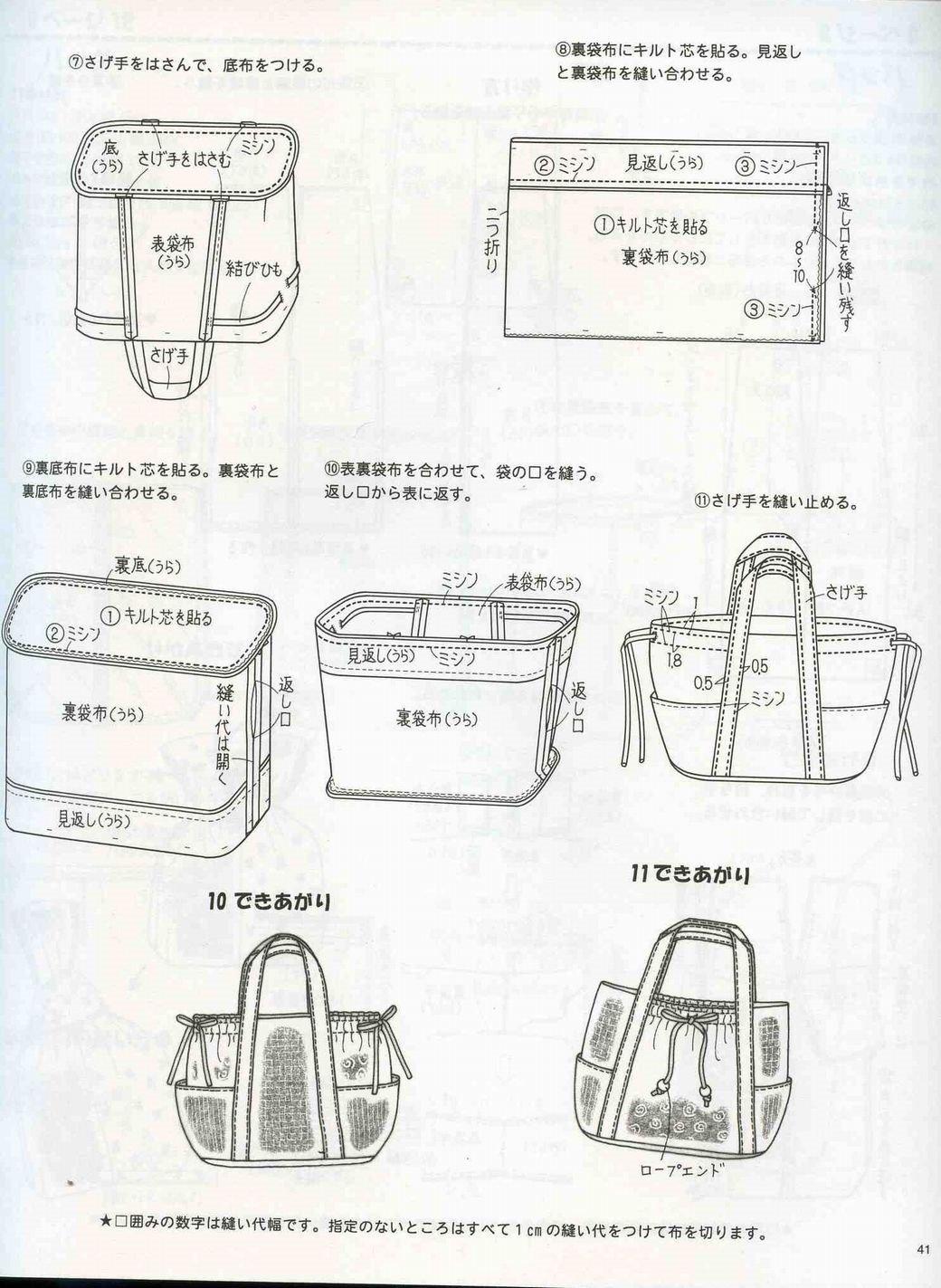 Джинсовая сумка своими руками мастер класс выкройка 62