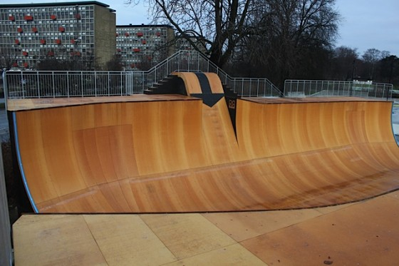 Biggest ramp in Europe at Copenhagen