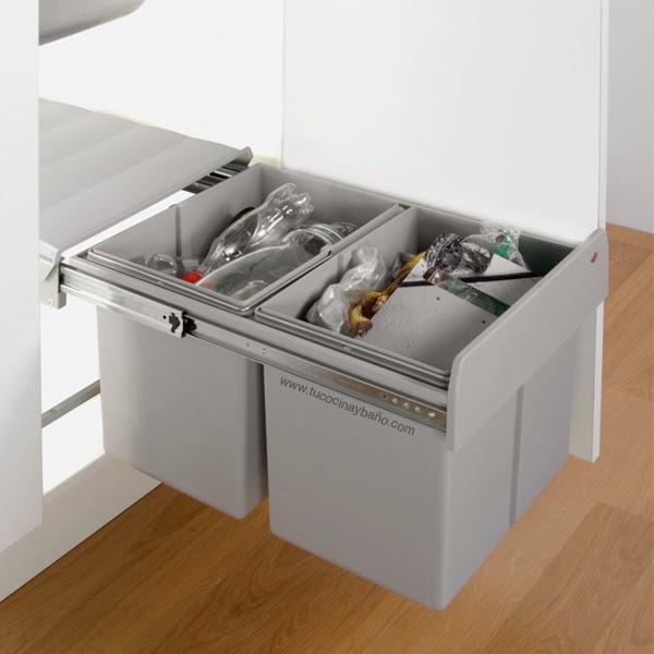 precio cubo ecológico mueble cocina 40