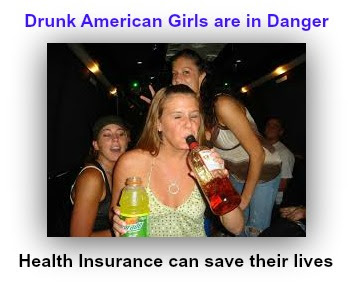 American Girls die young and drunk