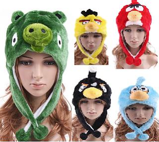 green pig hats