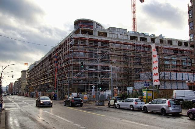 Baustelle, Voßstraße / Wilhelmstraße, 10117 Berlin, 22.12.2013