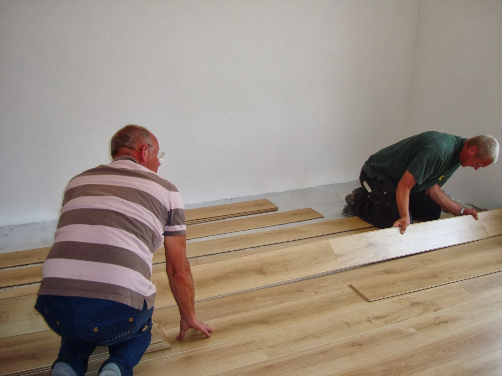 installing new laminate flooring