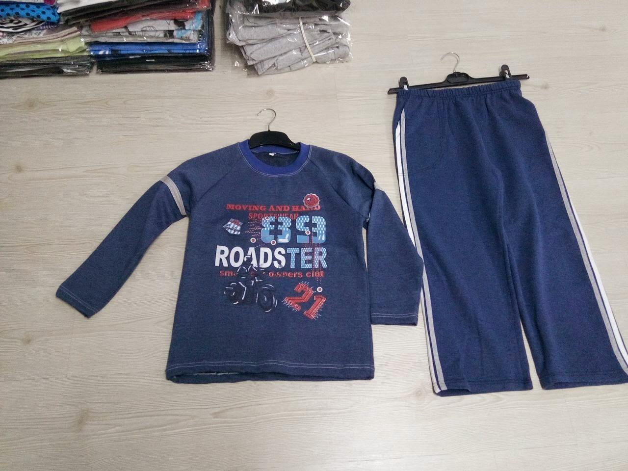 kışlık çocuk ikili eşofman takımları kapişonlu kapişonsuz kışlık ürünler imalatı
