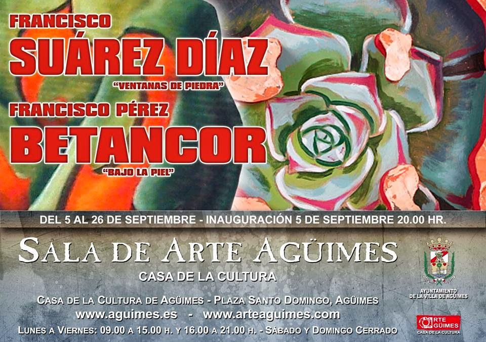 Exposición de Francisco Suárez y Francisco Betancor