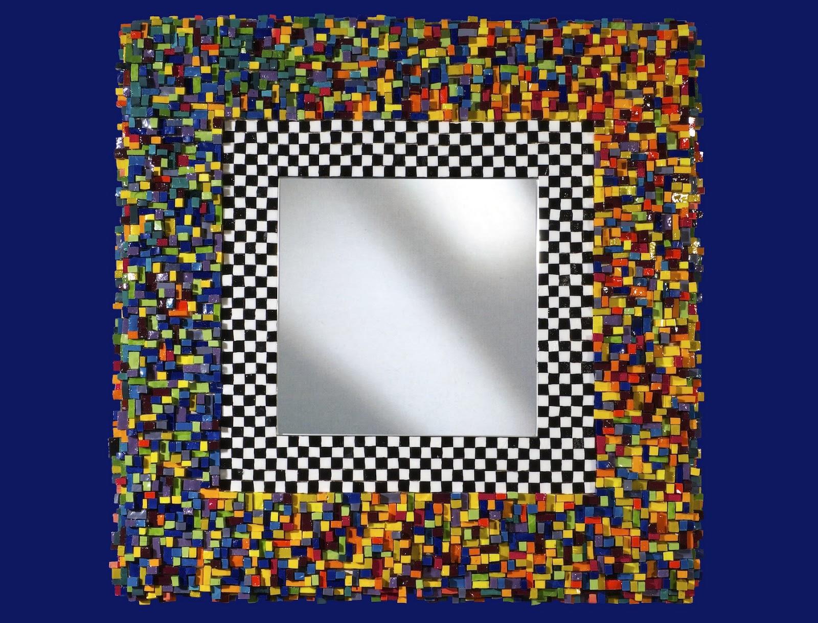 Luca bossaglia specchio 2013 - Specchio mosaico vetro ...