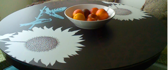 The Self Adhesive Decals Bring A Splash Of Style To Your Table All While  Making It Easy To Wipe Away Messes. The Decals Are Easy To Apply And Easy  To Remove ...