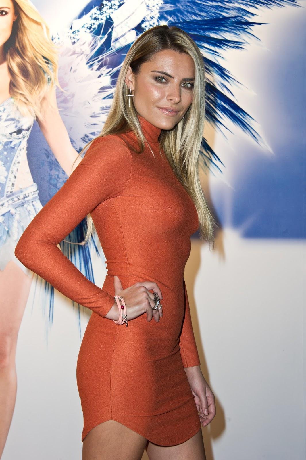 Celebrity Pictures: Sophia Thomalla - Holiday on Ice Gala