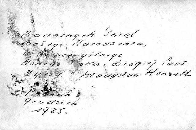 Pozostała korespondencja: życzenia świąteczne, zdawkowe, grzecznościowe i szacunek dla Anny Kubiak. Kartkę z życzeniami ze zbiorów rodzinnych Anny Kubiak - udostępnił Paweł Kubiak.