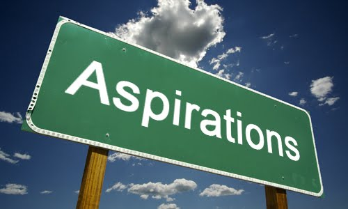 observations of an optimist  aspiration  the key to never