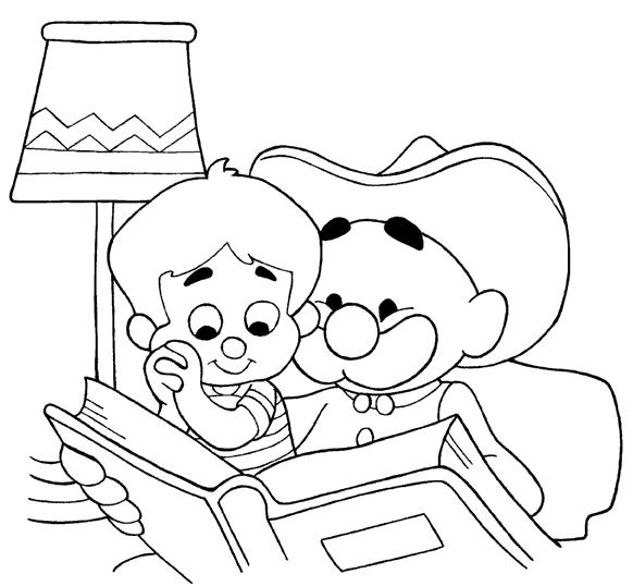 Dia dos Avós desenho para colorir