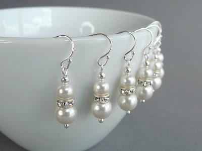 Ivory Pearl Earring Jewellery