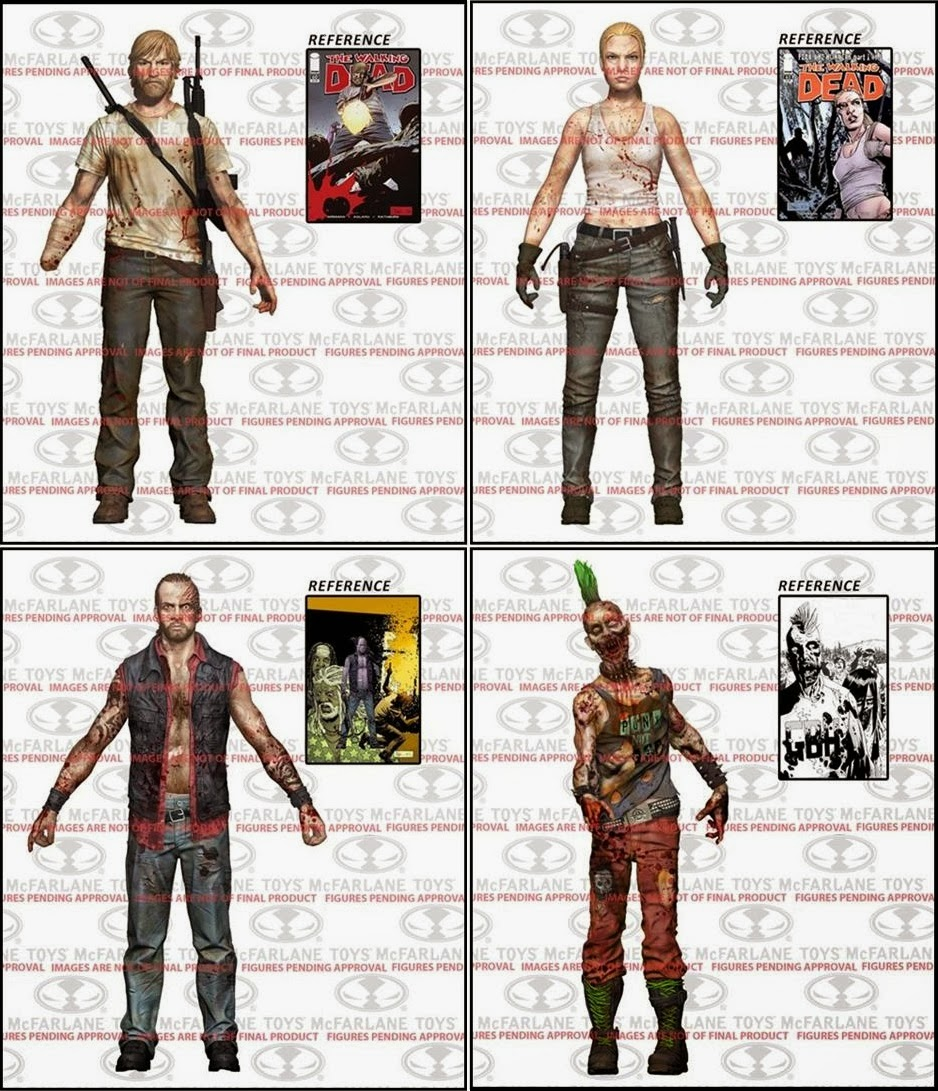 McFarlane s The Walking Dead Comic Book Series 3
