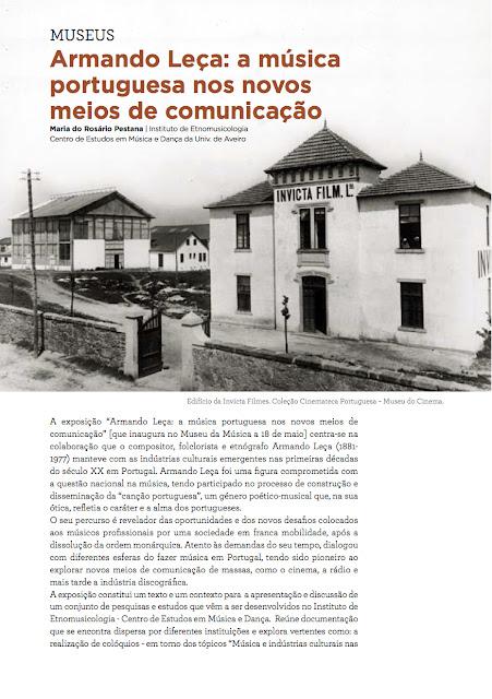 Armando Leça e a música portuguesa[expo]