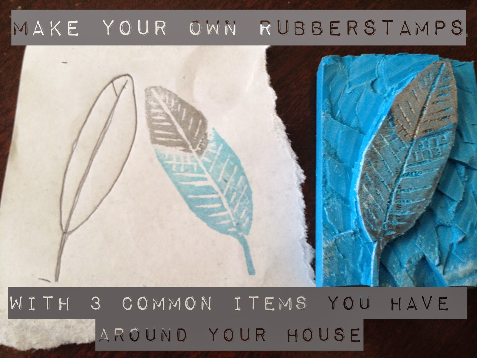 spain hill farm make your own rubberstamps with 3 things you