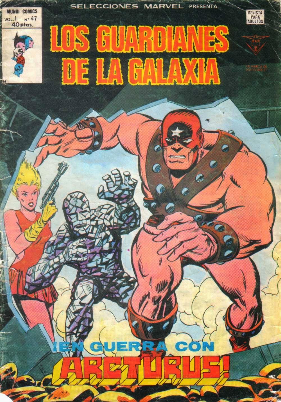 Portada de Guardianes de la Galaxia-Selecciones Marvel Volumen 1 Nº 47 Ediciones Vértice