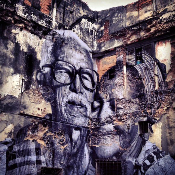 Arte Urbana | The Wrinkles of the City | JR e José Parlá
