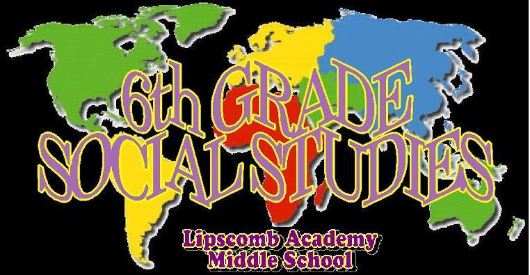L.A.M.S. 6th Grade Social Studies