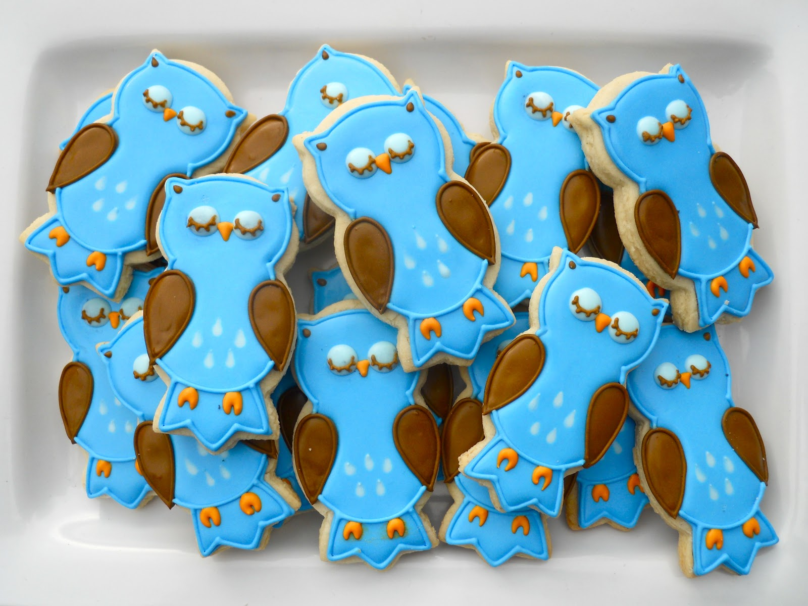 Owl Decorated Cookies Oh Sugar Events Cookie Quickie Owl Cookies