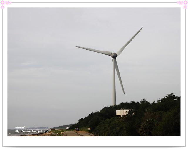 西濱海邊-風力發電-風車