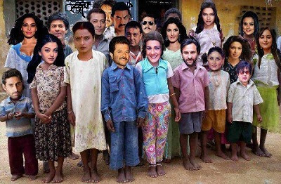 Bollywood actors actress funny photo