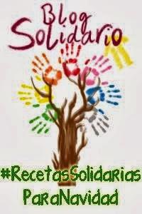 """""""Mis Recetas"""" participa en Blog Solidario"""