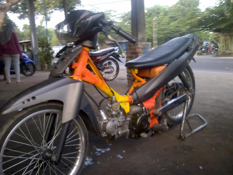 modifikasi motor foto motor drag