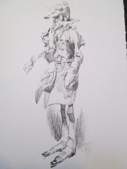 MAD's Jack Davis draws Sherlock Holmes