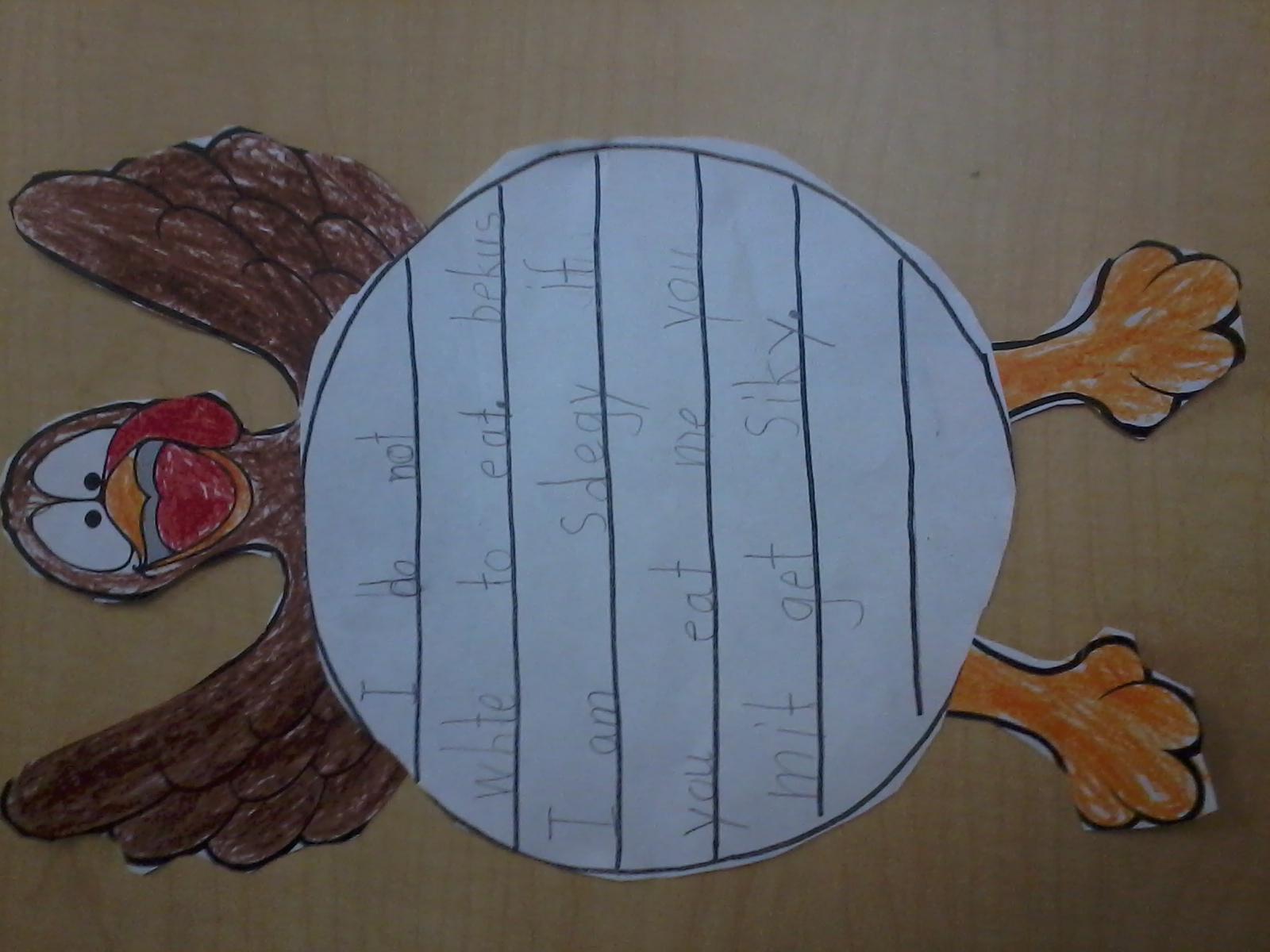 First Grade Fun!!: Thanksgiving Activities