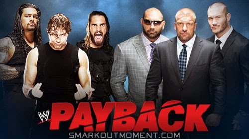 Evolution defeats Shield at Payback 2014 Pay-Per-View event