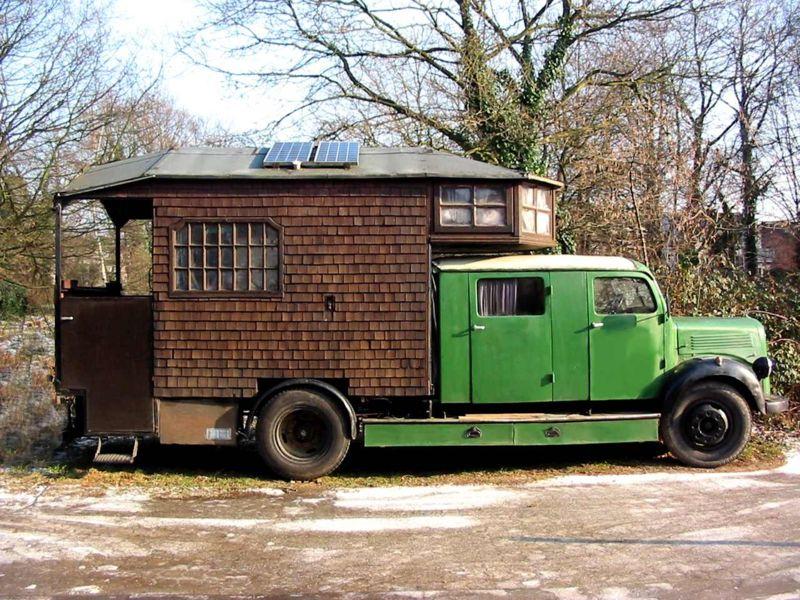 Le Camping Car Passe Partout Camping Car Insolite