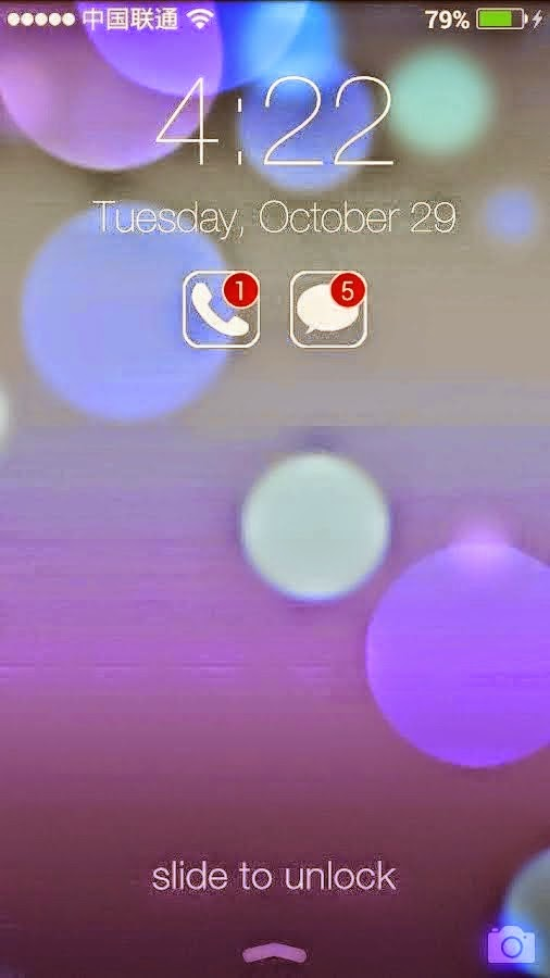 HI Lockscreen iOS 7, Parallax